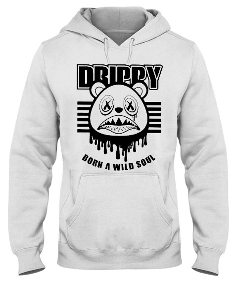 Drippy Born A Wild Soul Game royal 12s T-Shirt Hoodie