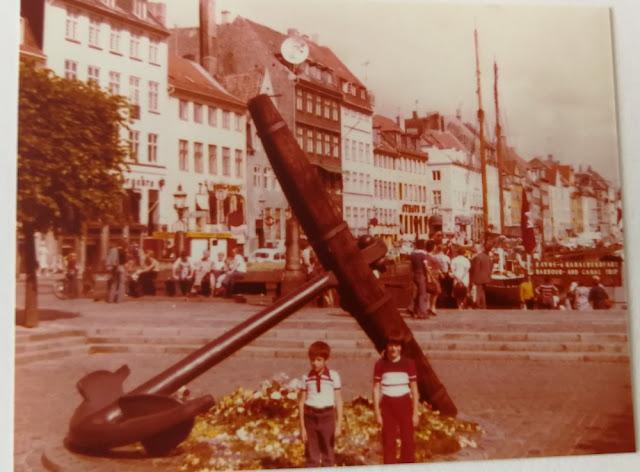 Kopenhagen Nyhavn - Sommer 1977