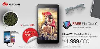 Promo Huawei MediaPad T2 7.0 LTE Tablet Murah Harga Rp 1 Jutaan