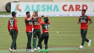Bangladesh vs New Zealand 4th T20I 2021 Highlights