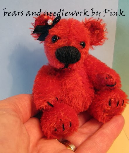 Artist bears and needlework  by Pink Veen