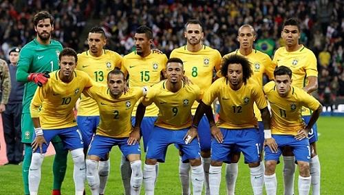 Brazil cùng đội hình đang ngày càng trẻ hóa của mình