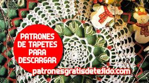 Patrones Crochet de Tapetes para Descargar Gratis