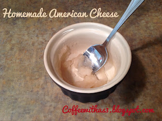 Homemade American Cheese by Coffee With Us 3 #recipes #goals