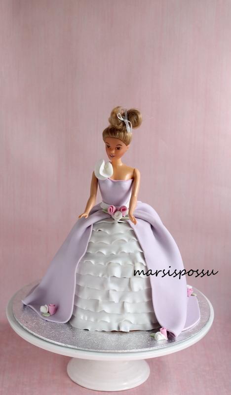 Prinsessakakku 5-vuotiaalle