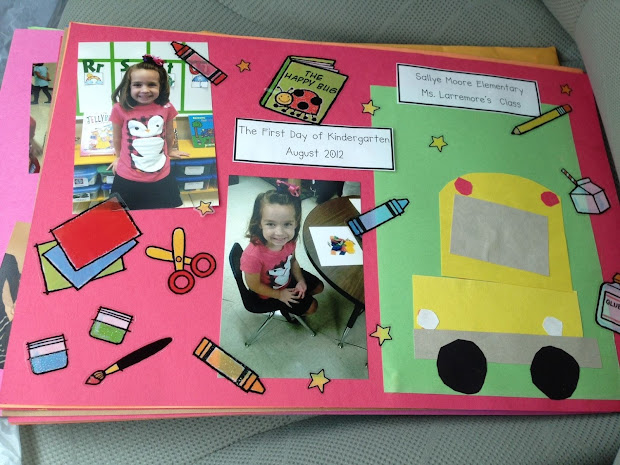 End of Year Kindergarten Memory Book