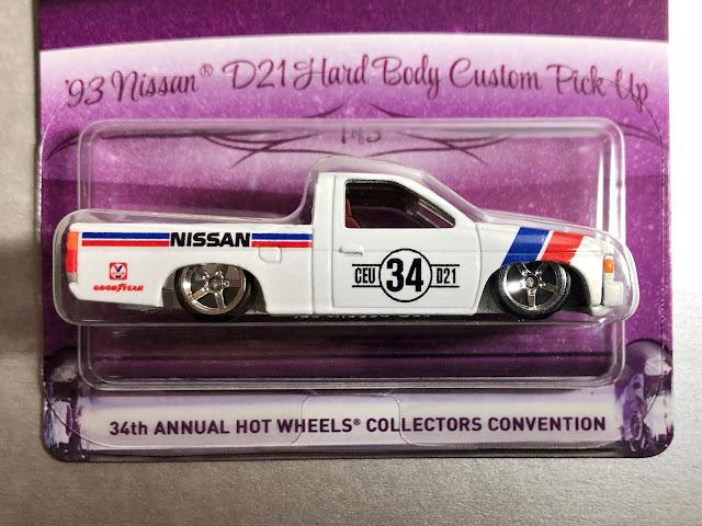 Hot Wheels Collectors Convention Los Angeles  Nissan Hardbody Custom Pickup