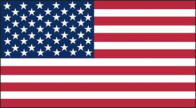 A imagem mostra a imagem da bandeira dos Estados unidos.