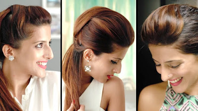 How to Make Puff Hairstyle Step by Step