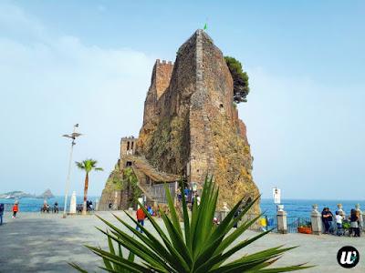 Castello Normanno castle, Aci Castello | Sicily, Italy | wayamaya