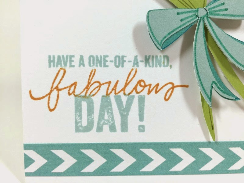Cricut Fabulous Day card