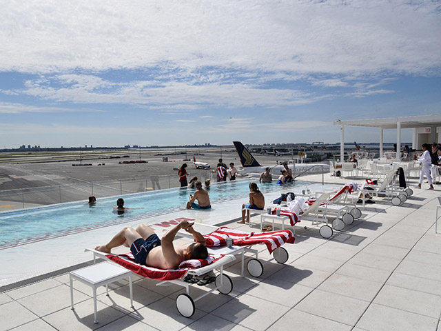 TWA Hotel JFK Pool