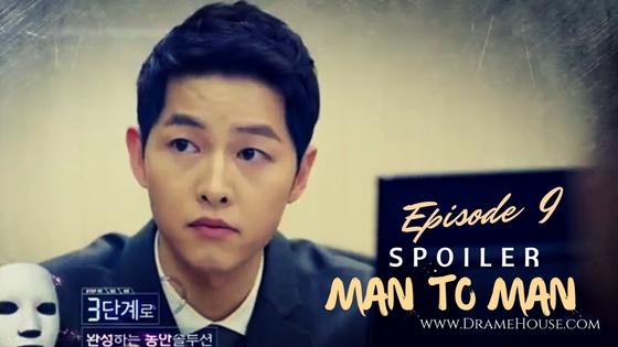 Spoiler Man to Man Korean Drama Episode 9 - Song Jong Ki Manis Ber-jas