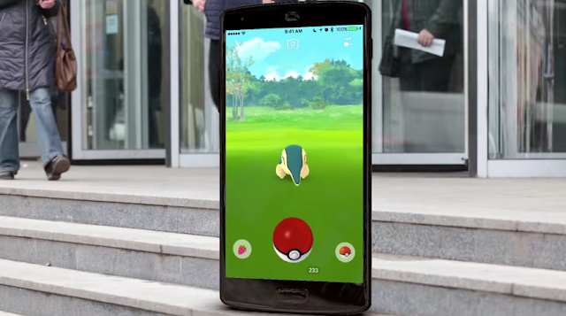 Pokémon GO Johto update Cyndaquil meadow grass in front of building AR augmented reality
