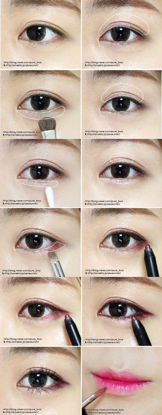 เขียนตาแบบ Nature Look