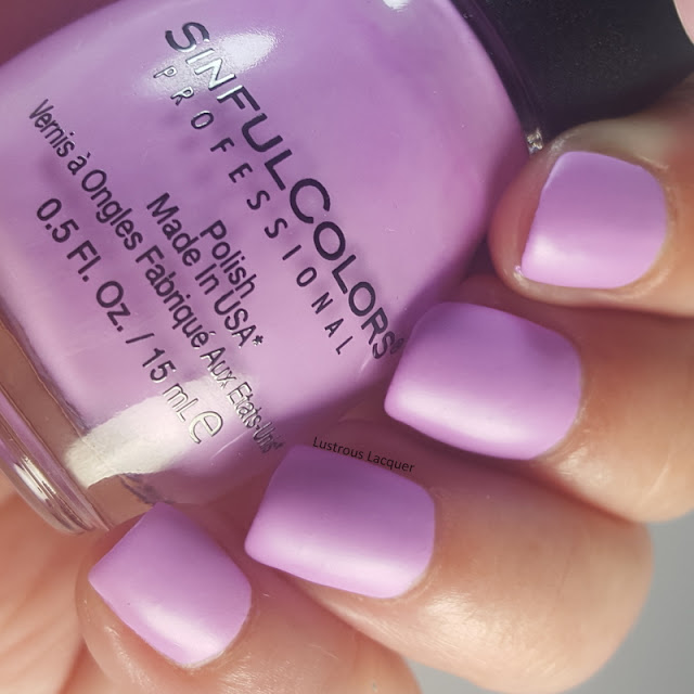 Muted-pastel-neon-purple-nail-polish-with-a-matte-finish