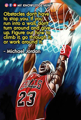 Quotes about being strong, Motivational quotes by Michael Jordan