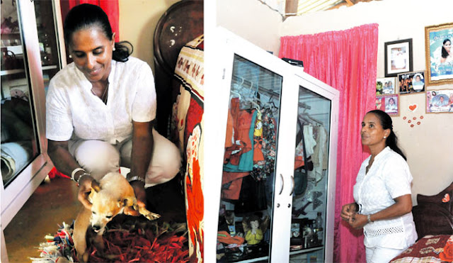 Aunque Emely no está, su madre la siente viva dentro de la casa