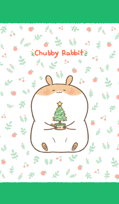 Chubby Rabbit-Happy Holiday