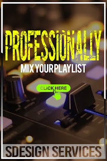 Mix your playlist professionally multi-instrumentalist, professional musician, DJ, composer producer