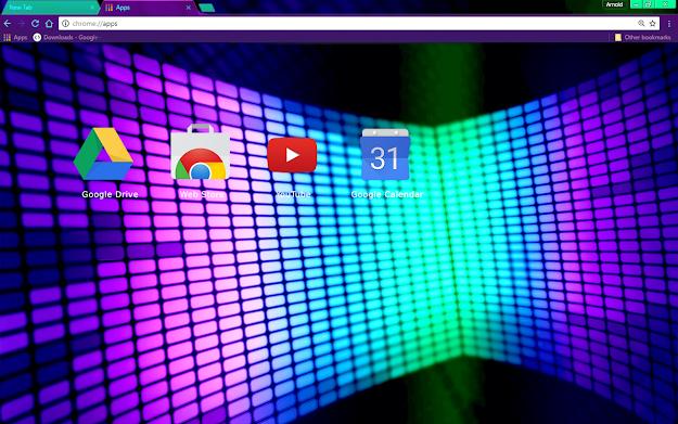 Lights Chrome Theme