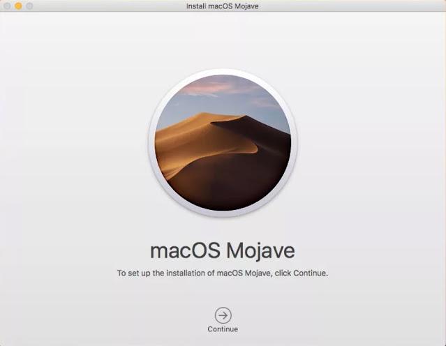 Instal ulang MacOS