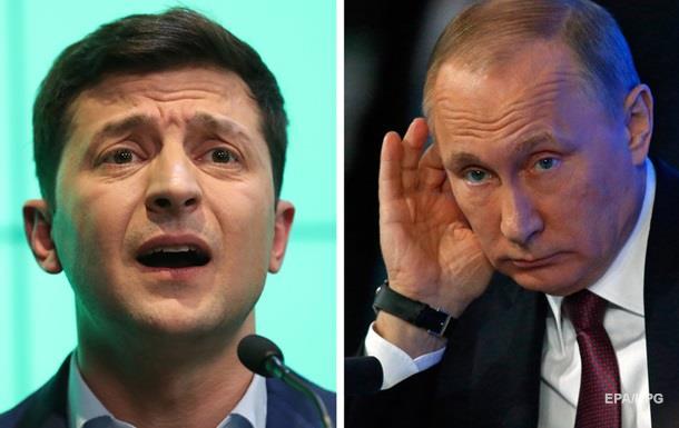 Путін і Зеленський провели переговори