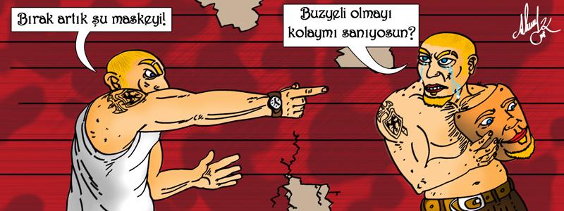 Banner Çizimi / Buzyeli