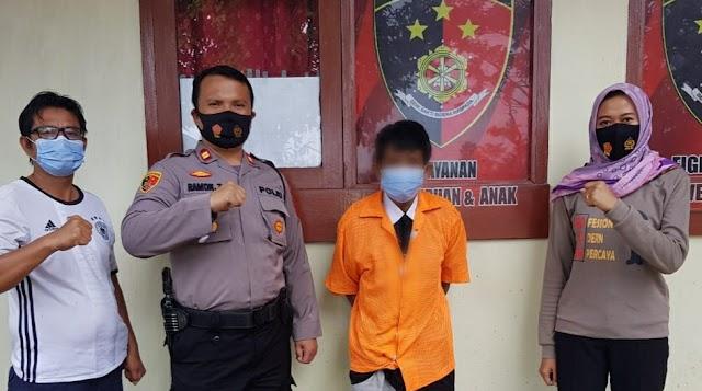 Polsek Pulau Panggung Tangkap Kakek 60 Tahun Pelaku Pencabulan Anak Dibawah Umur