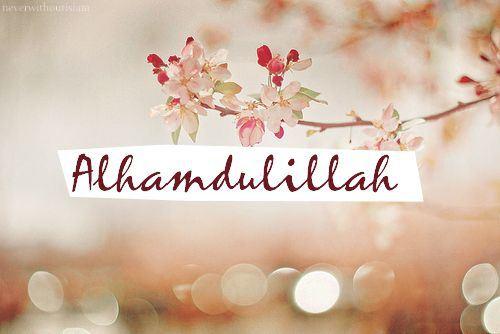 Allhamdulillah