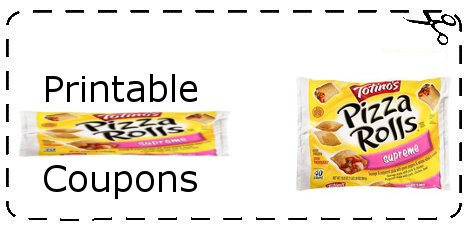 2. The top two printable coupons for Totino's pizza rolls are the $/1 Totino's Pizza Rolls or Blasted Crusted Rolls oz or larger and the B2G1 Totino's Crisp Crust Party Pizza coupon.