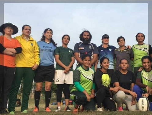 National Women's Sevens Rugby Team Prepares four Asian Sevens Women's Rugby Trophy