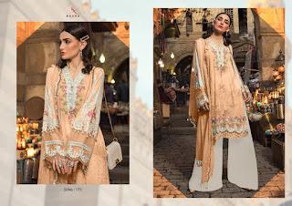 Kaara Suits mariya b lawn 2020 silver pakistani Suits catalog wholesaler
