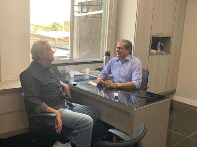 Resultado de imagem para Moésio e Zezinho agilizam obras para Campos Sales