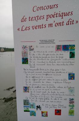 Poèmes exposition Pont-l'Abbé