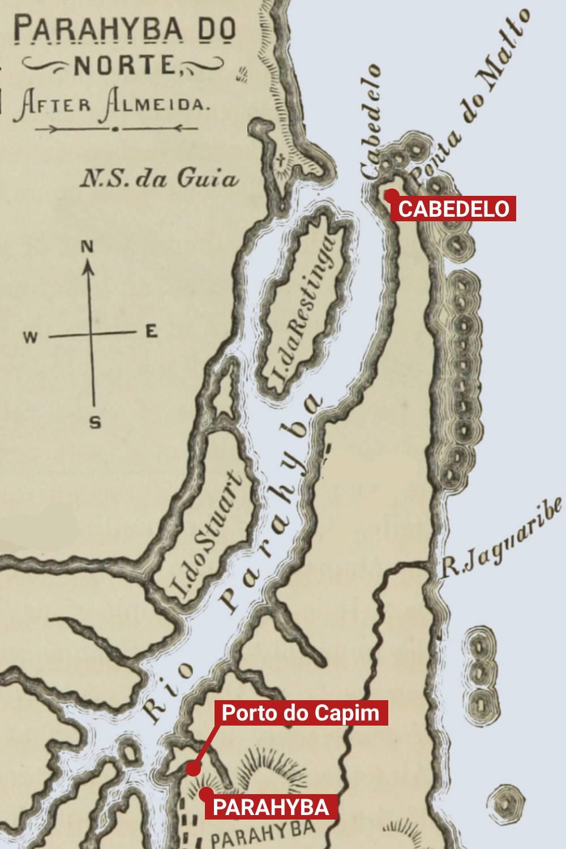 literatura paraibana epitacio joao projeto porto cabedelo capim fraude golpe desvio oligarquias mapa parahyba
