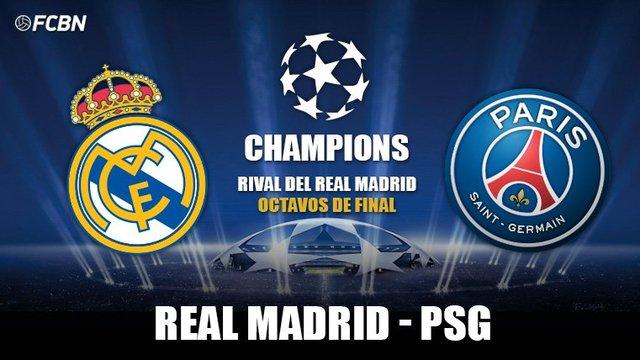 Real Madrid vs. PSG: día, hora y canal por octavos de Champions