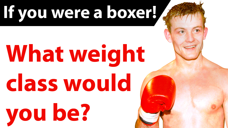 weight professional amateur and Boxing classes