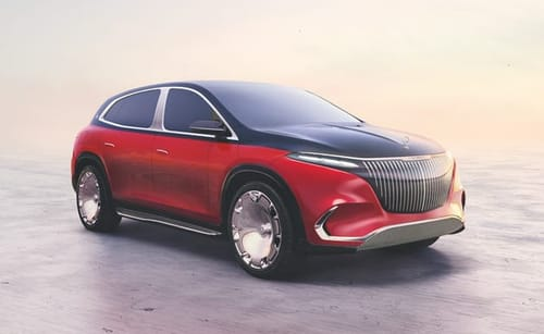 Mercedes presents the electric Maybach model