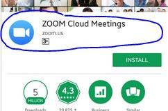 Cara Belajar Online Lewat Zoom Menggunakan Hp atau Laptop