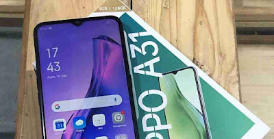 cara screenshot oppo a31 panjang