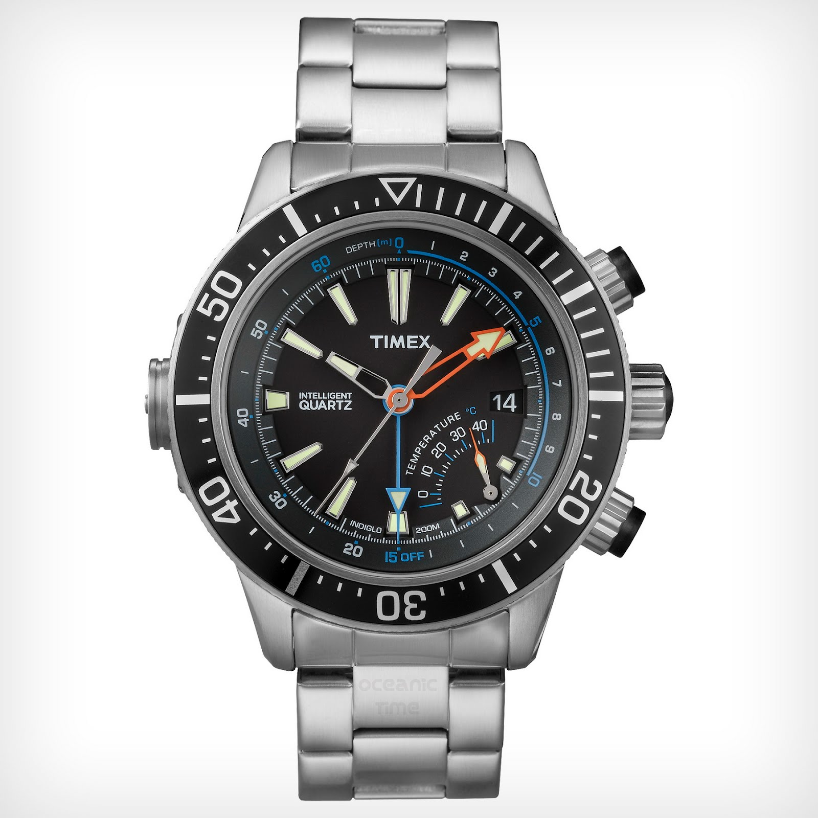 oceanictime timex intelligent quartz depth gauge