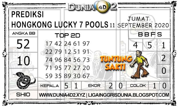 Prediksi Togel HONGKONG LUCKY7 DUNIA4D2 11 SEPTEMBER 2020