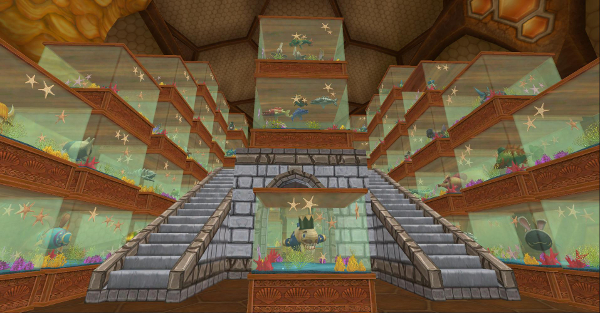 Wizard101 Fish Tanks