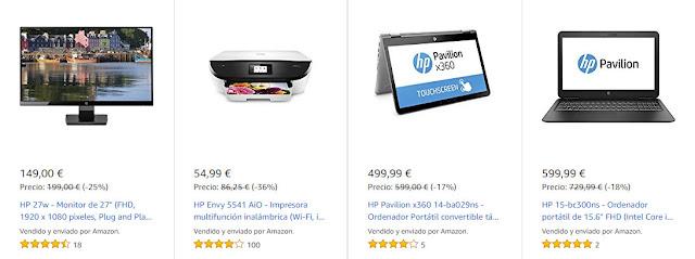 Mejores ofertas Días de HP de Amazon