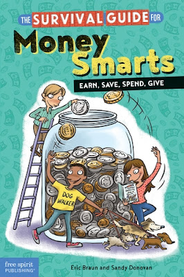 The Survival Guide for Money Smarts builds a solid foundation of financial literacy skills that will serve upper elementary and middle school kids well into their future.