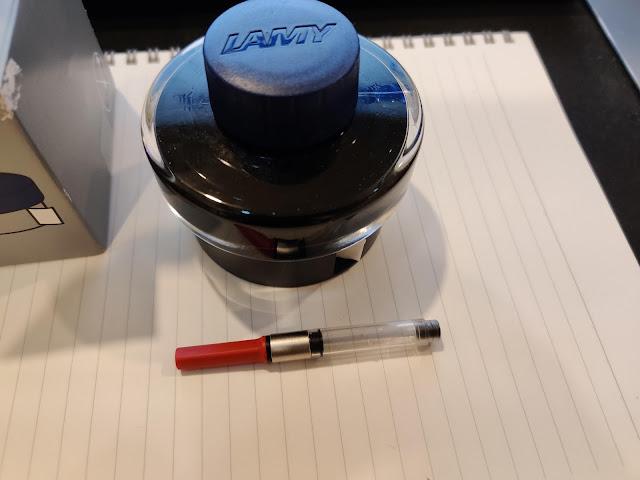 LAMY 鋼筆墨水 與 吸墨器