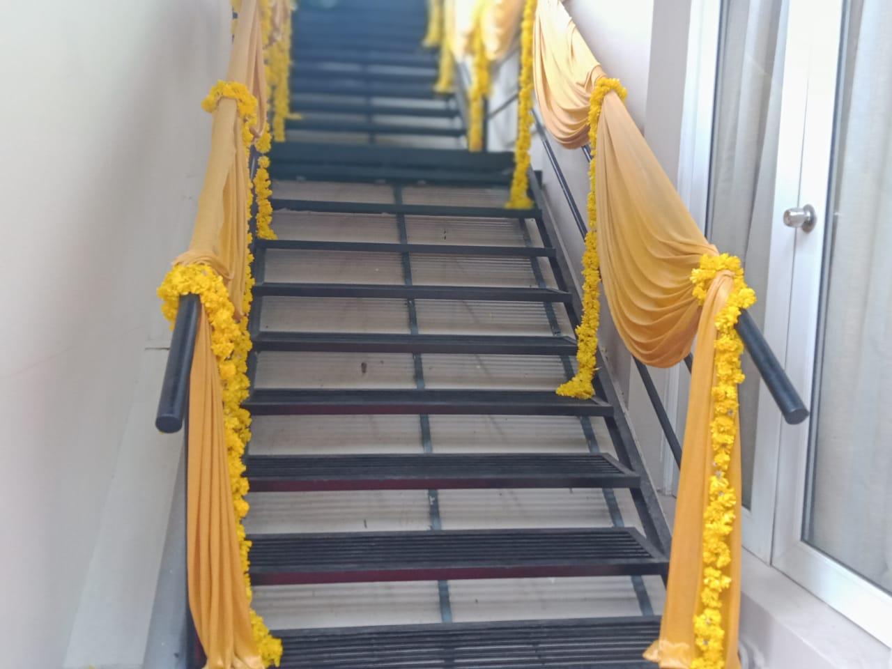 corridor hand rail decoration kerala 8943906399
