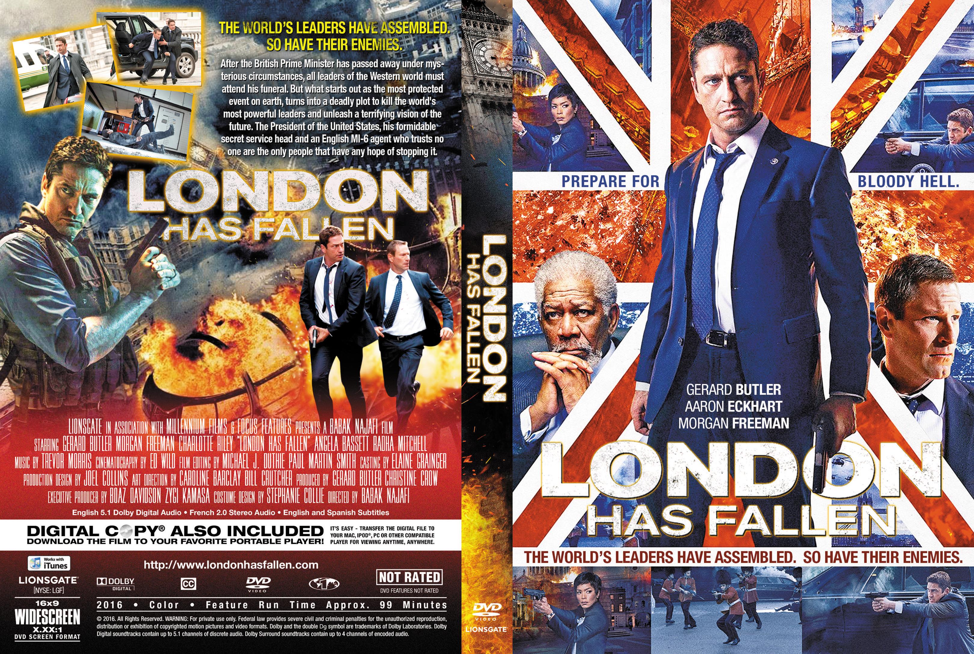 london has fallen dvd