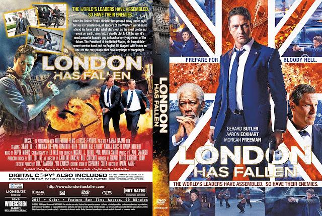 London Has Fallen DVD Cover